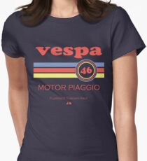 Vespa 46 Women's Fitted T-Shirt