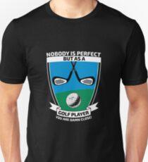 Perfect golf player Unisex T-Shirt