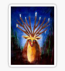 Dieux cerf ( princesse Mononoke ) Sticker
