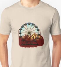 Old Carnival Ferris Wheel Unisex T-Shirt