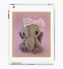 Handmade bears from Teddy Bear Orphans - Audrey Elephant iPad Case/Skin