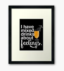 Mixed Drinks Framed Print