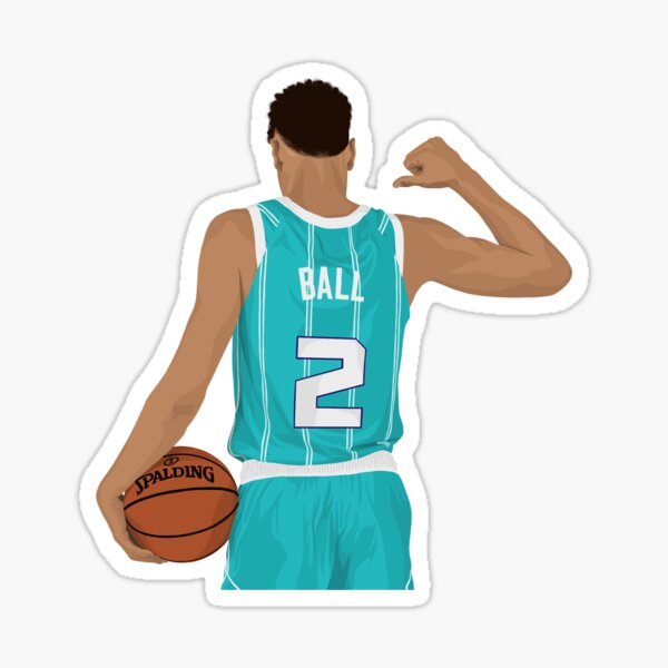 Lamelo Ball Rookie Sticker By Infamousbball Redbubble