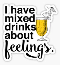 Mixed Drinks Sticker