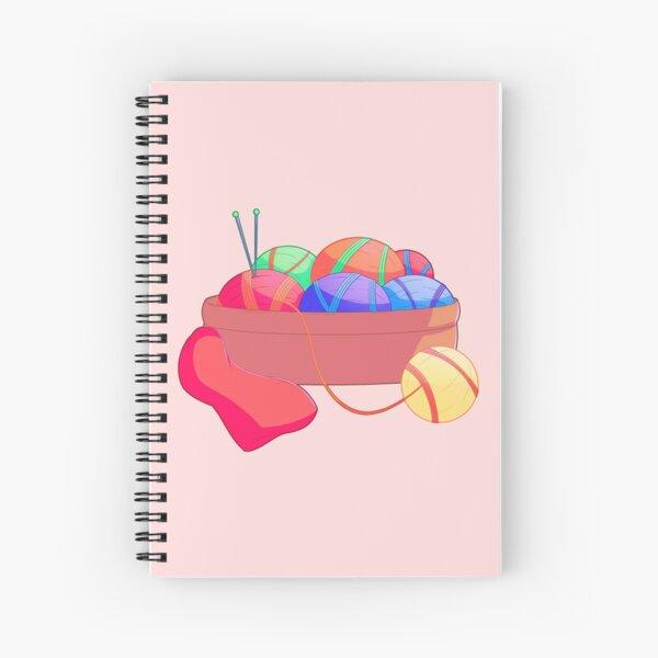 Yarn Balls Spiral Notebook