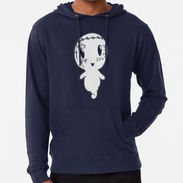 Camiseta Ghost Malone Sudadera ligera con capucha