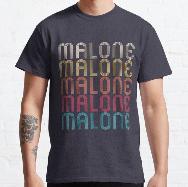 Malone Retro Vintage Style Name T-Shirt Classic T-Shirt