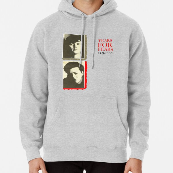 Tears for Fears 1985 Vintage 80s New Wave Synth Pop Band Tour Pullover Hoodie