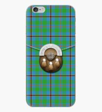 Clan Snodgrass Tartan And Sporran iPhone Case