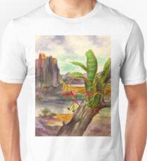 Bromeliad Landscape Unisex T-Shirt