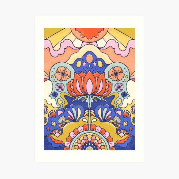 Blossom Magic Floral Wonderland Art Print