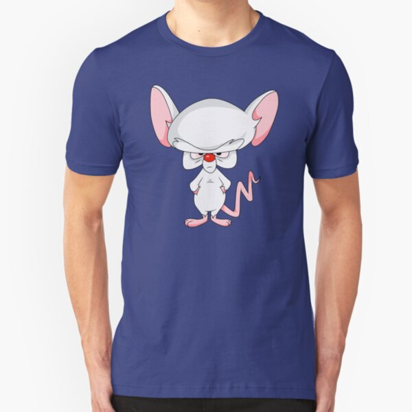Pinky and The Brain - Brain Slim Fit T-Shirt