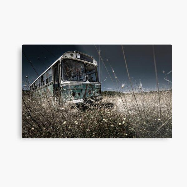The Bus #0201 Metal Print