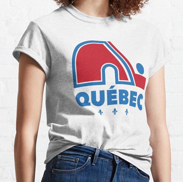 Nordiques Quebec Hockey Team Avalanche Vintage with fleurs de lys Classic T-Shirt