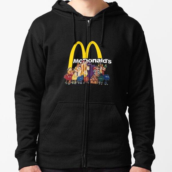 Copains McDonalds 72 Veste zippée à capuche