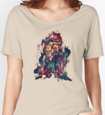 tardis dr who paint  Women's Relaxed Fit T-Shirt