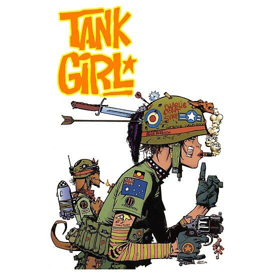 TANK GIRL by Nicholas-colfin