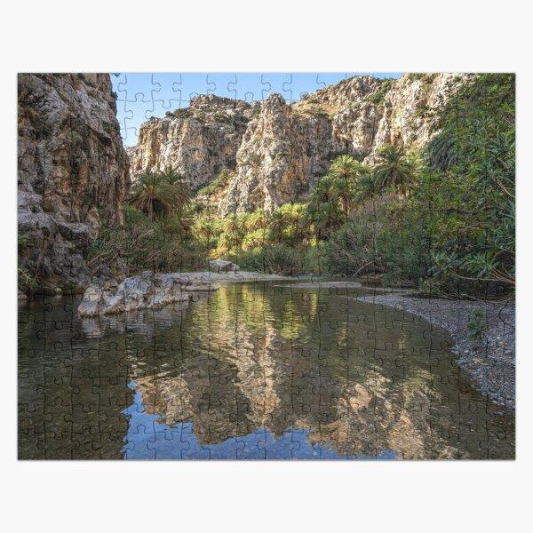 Preveli Gorge, Crete Jigsaw Puzzle