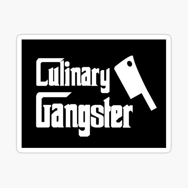 Culinary Gangster Chef  Sticker