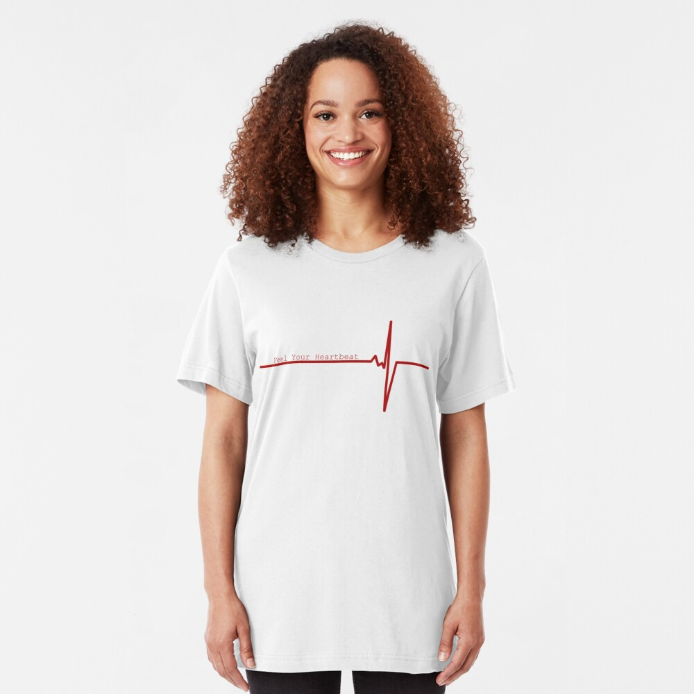 Feel Your Heart Beat Slim Fit T-Shirt