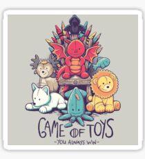Game of Thrones Cuddly Toy Design Sticker
