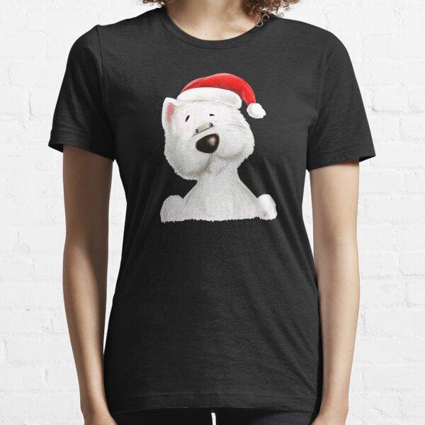 Santa westie Essential T-Shirt
