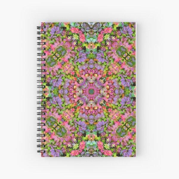 kaleidoscope in forest  Spiral Notebook