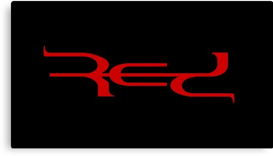 quotred band logoquot canvas prints by supremeredditor redbubble