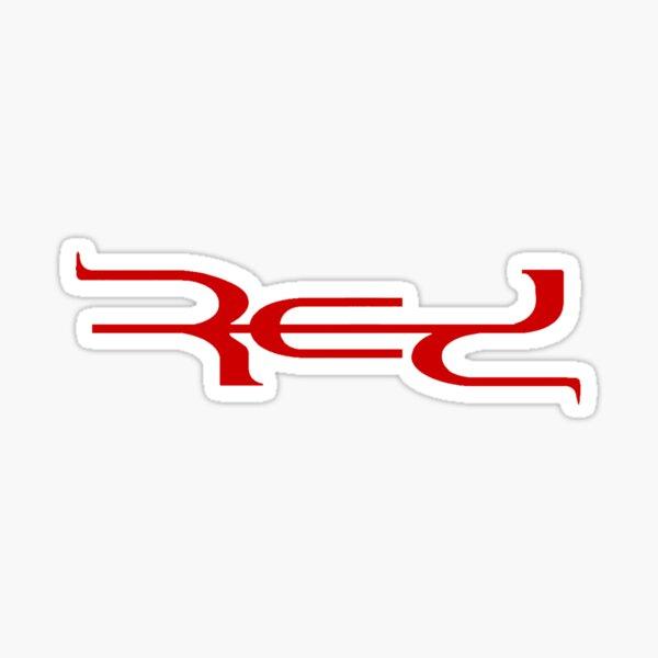 Red Band Logo Sticker