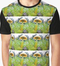 Stunning Parrot Waxcap Graphic T-Shirt