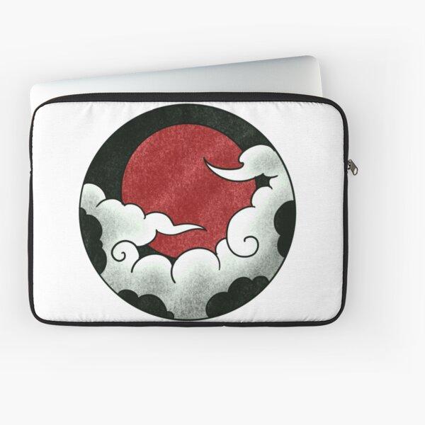 Japanese circle - clouds 1 Laptop Sleeve