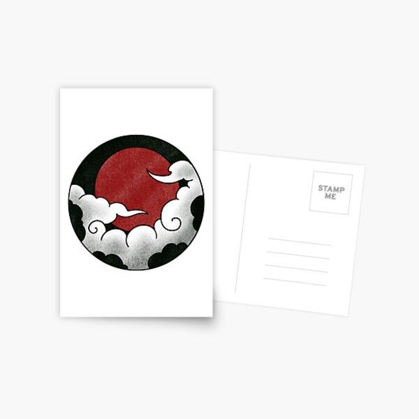 Japanese circle - clouds 1 Postcard