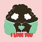 I love you by emocloud