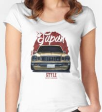 Japan car in my garage Women's Fitted Scoop T-Shirt