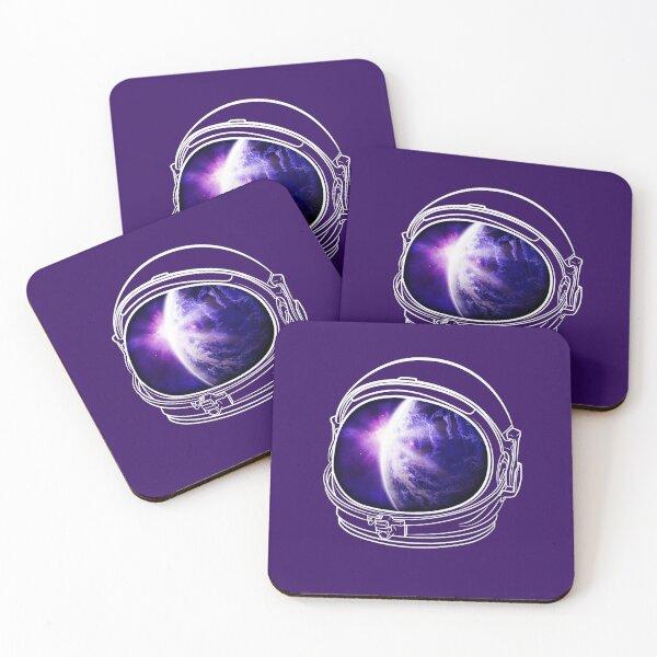 Spaceman Coasters (Set of 4)
