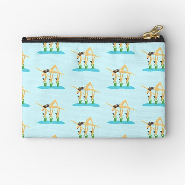 Synchronized Swimming Team. - Artistic Swimming Zipper Pouch