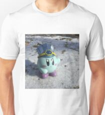 Ice Kirby Cools Off Unisex T-Shirt