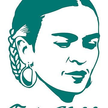Frida Kahlo w/ Real Signature Digitized by LaJura