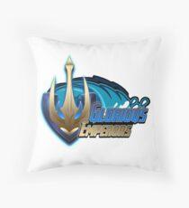 Glorious Emperors Throw Pillow
