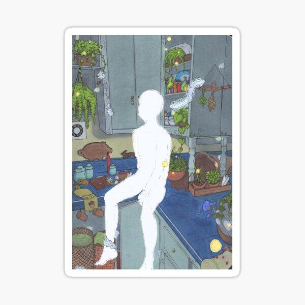 Kitchen Ghosts Sticker