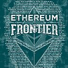 Ethereum Frontier grunge by Andrea Beloque