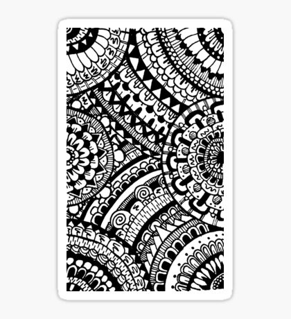 Patterns and Circles Sticker