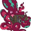 Angry Octopus by Cameron Kinchen