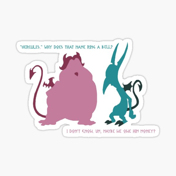 Pain and Panic Quote Sticker