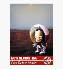 Kerbal Space Program: Duna Mission Photographic Print