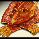Cheeky Dragon by Asia Barsoski