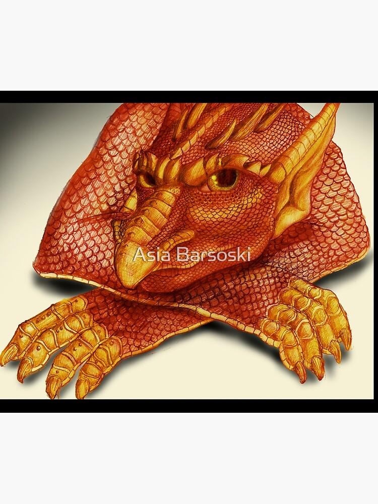 Cheeky Dragon by abarsoski