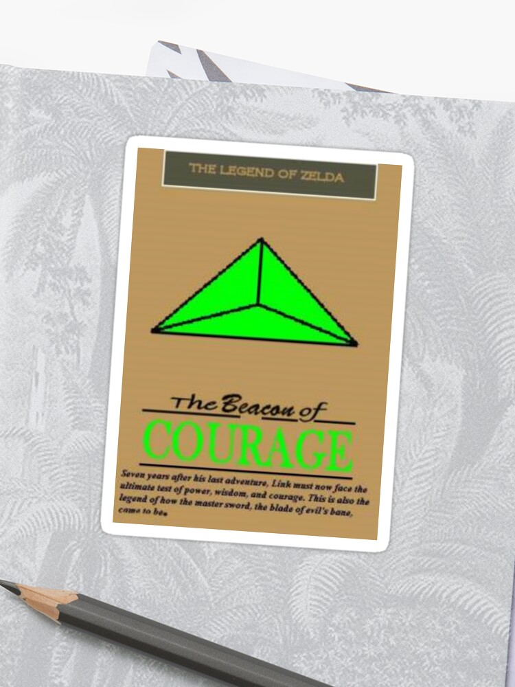 The Beacon of Courage Poster 1 | Sticker
