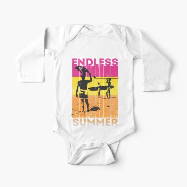 Vintage Endless Summer III Long Sleeve Baby One-Piece