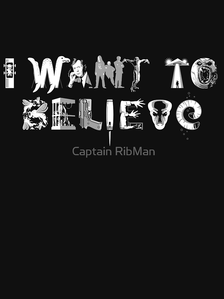 X-Phile: I WANT TO BELIEVE by RibMan